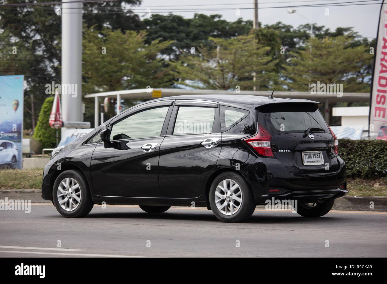chiangmai, thailand - 18. dezember 2018: private neue eco auto