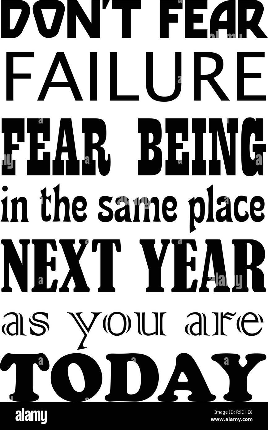 angst vor dem versagen
