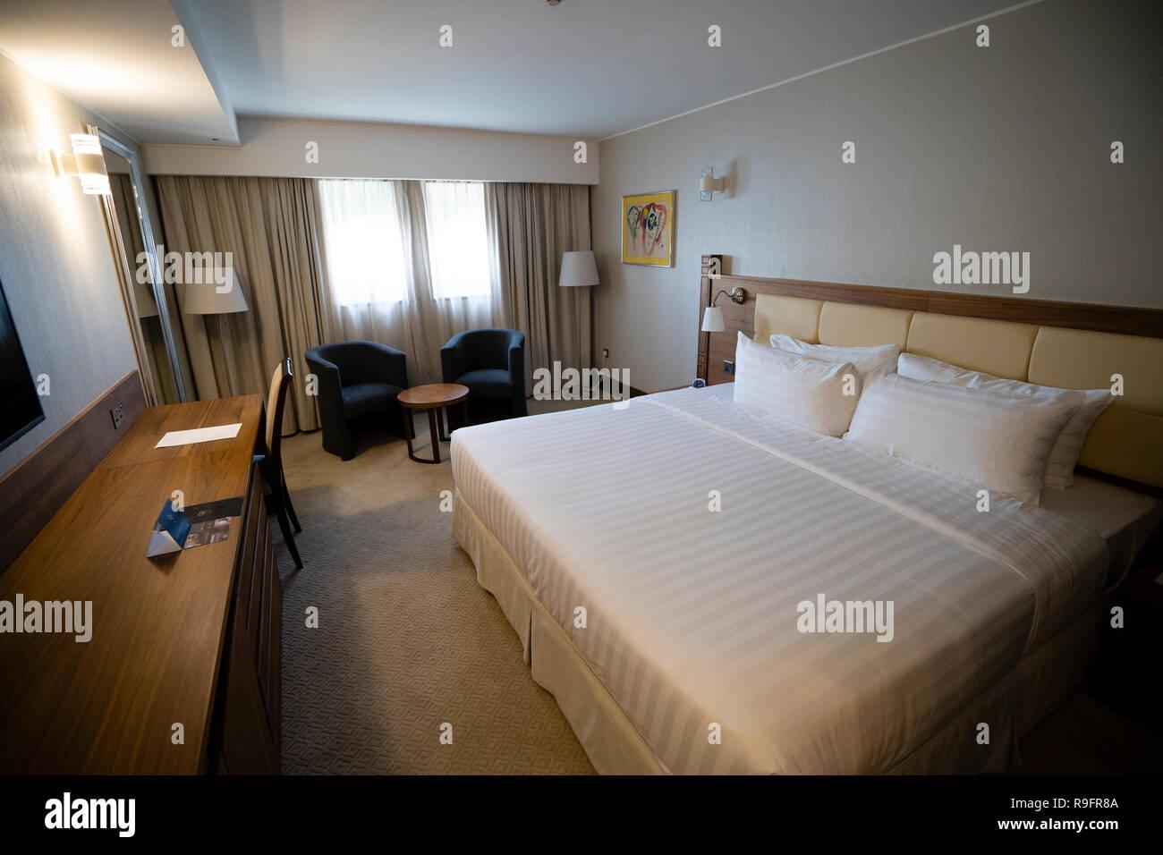 Schlafzimmer In Der Ehemaligen Hutte Der Queen Elizabeth 2 Ehemalige