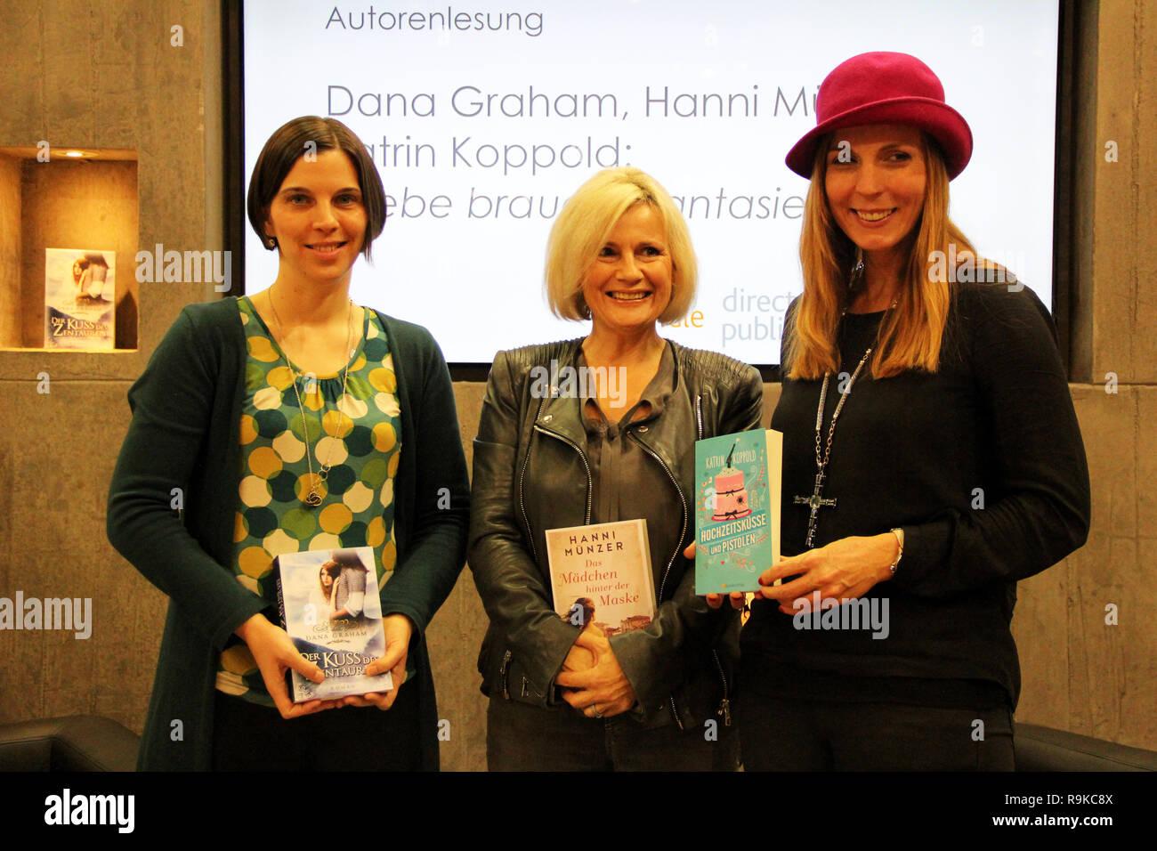 Die Autoren Dana Graham Hanni Münzer Und Katrin Koppold Ihre Bücher
