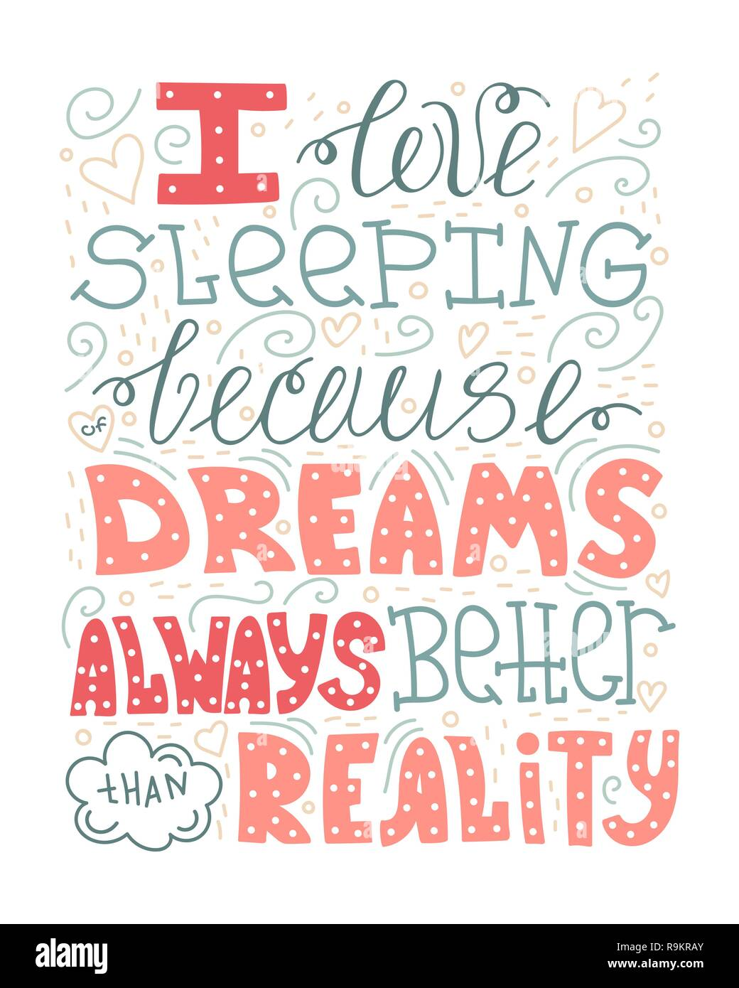 Ich liebe schlafen