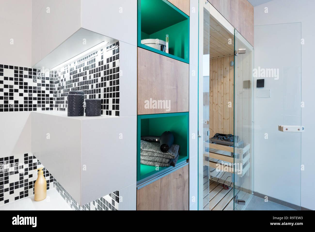 Kleine Sauna Stockfotos & Kleine Sauna Bilder - Alamy