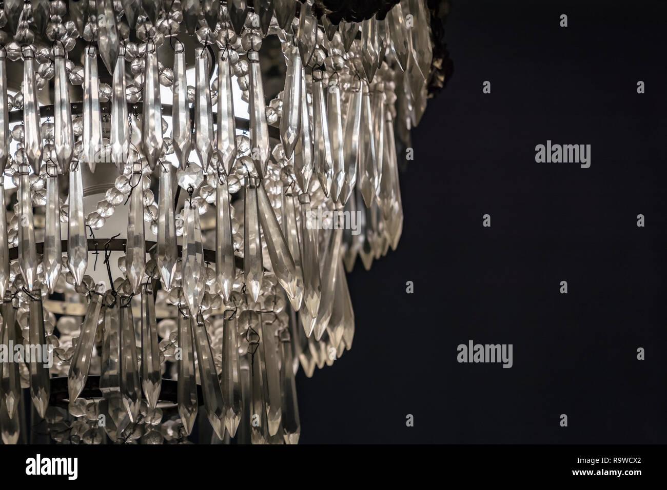 Kronleuchter Glaskristalle ~ Kronleuchter lampe stockfotos kronleuchter lampe bilder alamy
