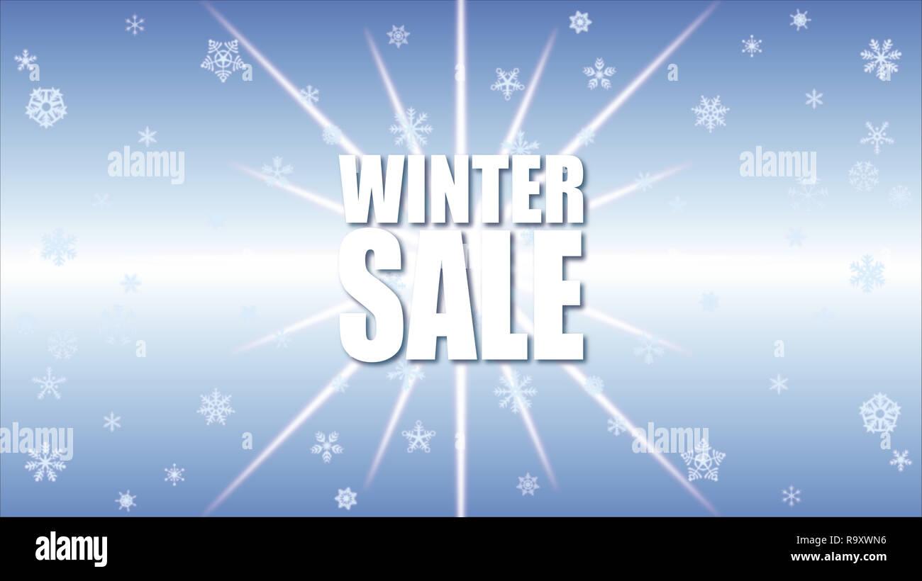 Winter Verkauf Hintergrund Angebot Banner Hintergrund Für Wirtschaft