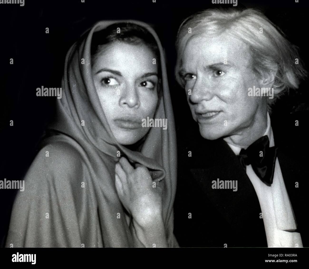 Bianca Jagger Andy Warhol bei Studio 20 20 Foto von Adam Schädel ...