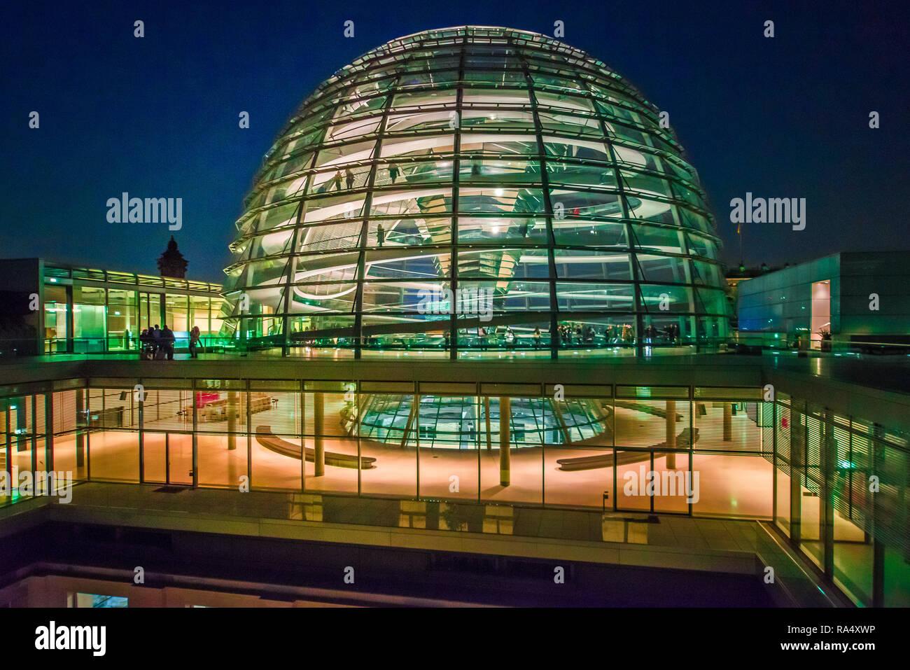 Cyber Dom Berlin Reichskuppel Moderne Futuristische Architektur