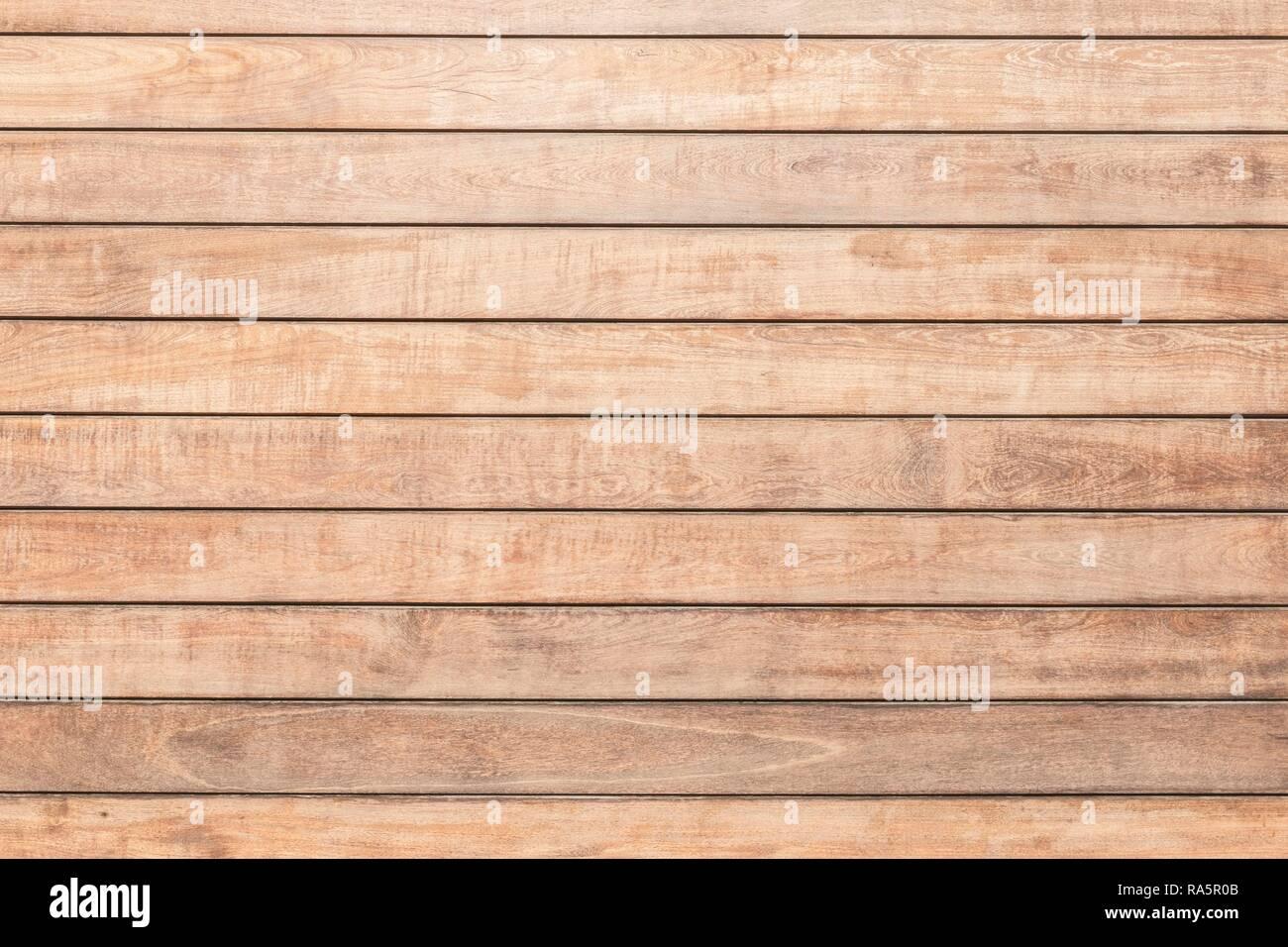 Beigefarbene holzwand von horizontal verlegt einzelne Bretter, Haria, Lanzarote, Kanarische Inseln, Spanien Stockbild