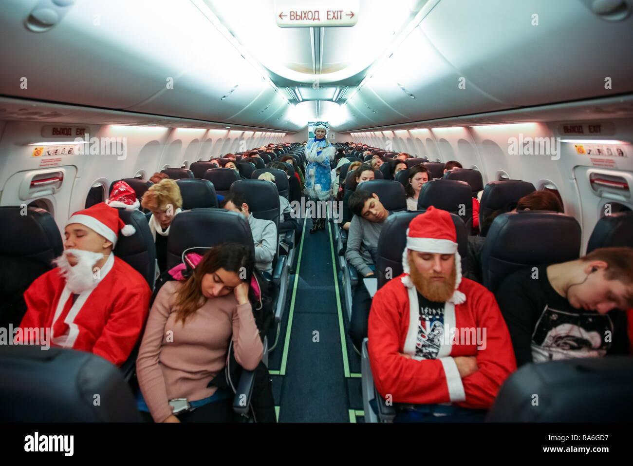 Märchen Weihnachten 2019.Russland 02 Jan 2019 Moskau Russland Januar 2 2019 Männer