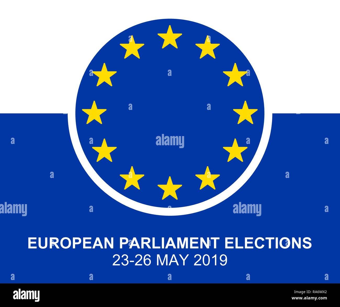 european parliament election 2019 stockfotos european. Black Bedroom Furniture Sets. Home Design Ideas