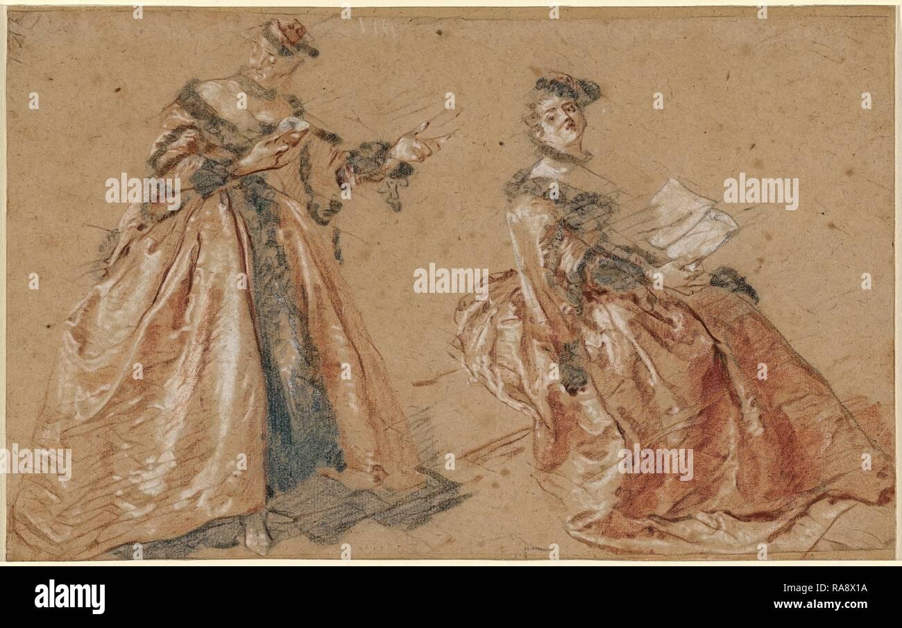 In Frauen Nicolas Polnischen Kleid Elegante LancretZwei ARjq354L