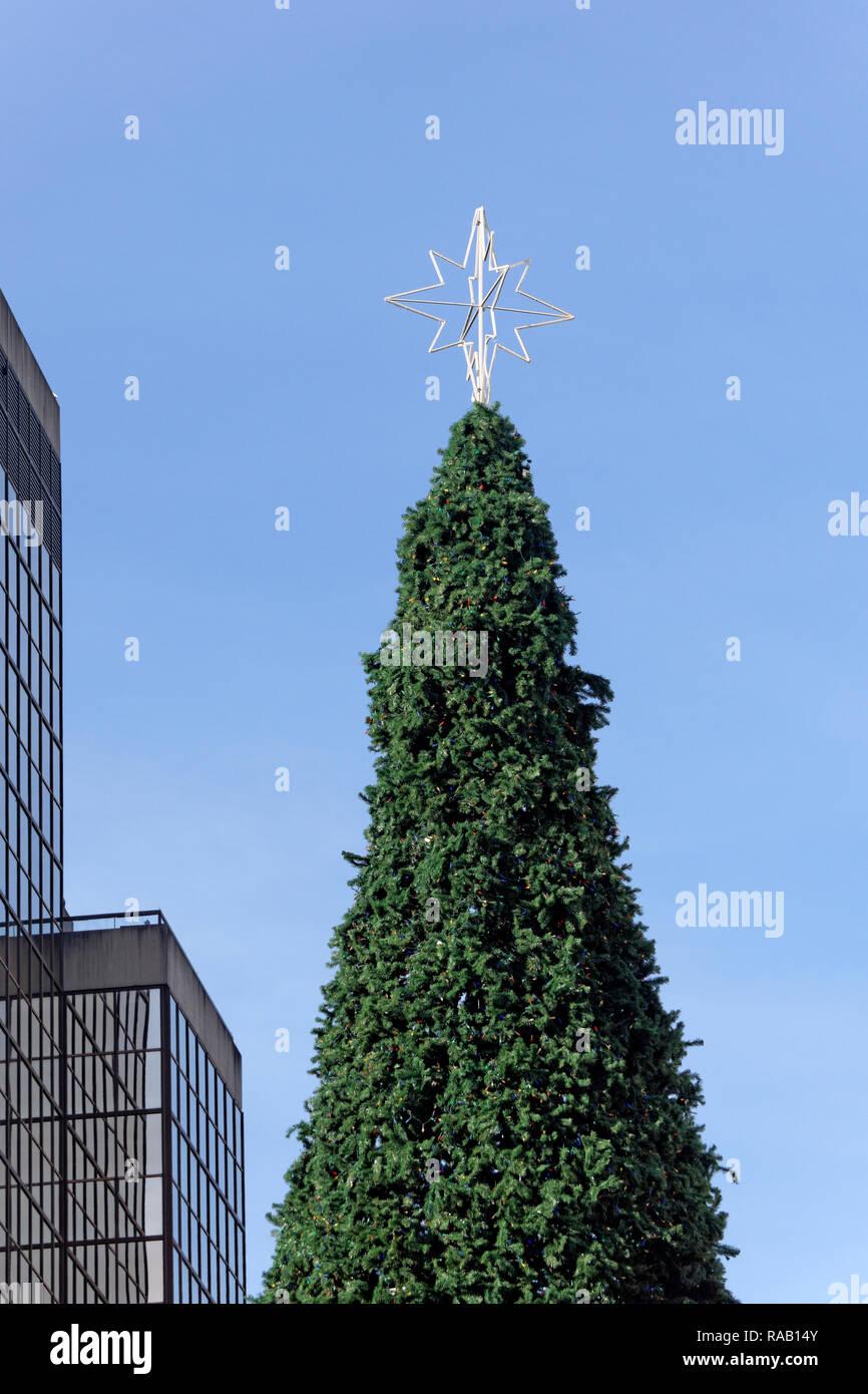 Künstlicher Weihnachtsbaum Outdoor.Künstlicher Baum Stockfotos Künstlicher Baum Bilder Alamy