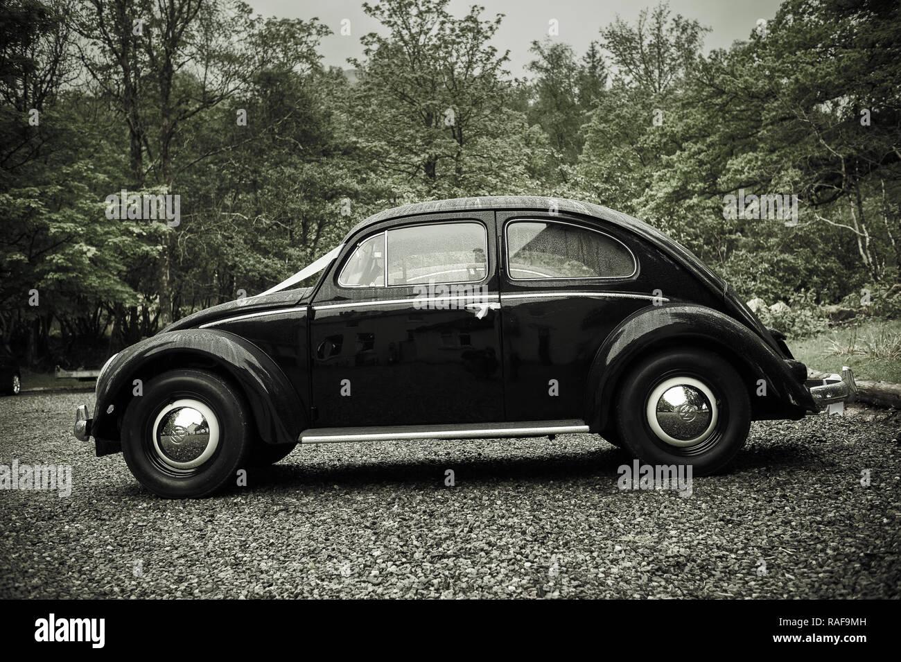 Classic Vw Kafer Hochzeit Auto Stockfoto Bild 230218257 Alamy