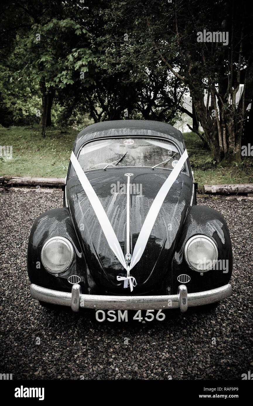 Classic Vw Kafer Hochzeit Auto Stockfoto Bild 230218305 Alamy