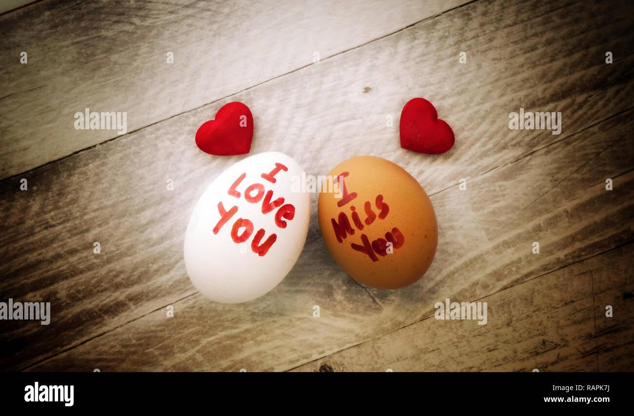 Dich vermisse liebe ich und Findet ihr