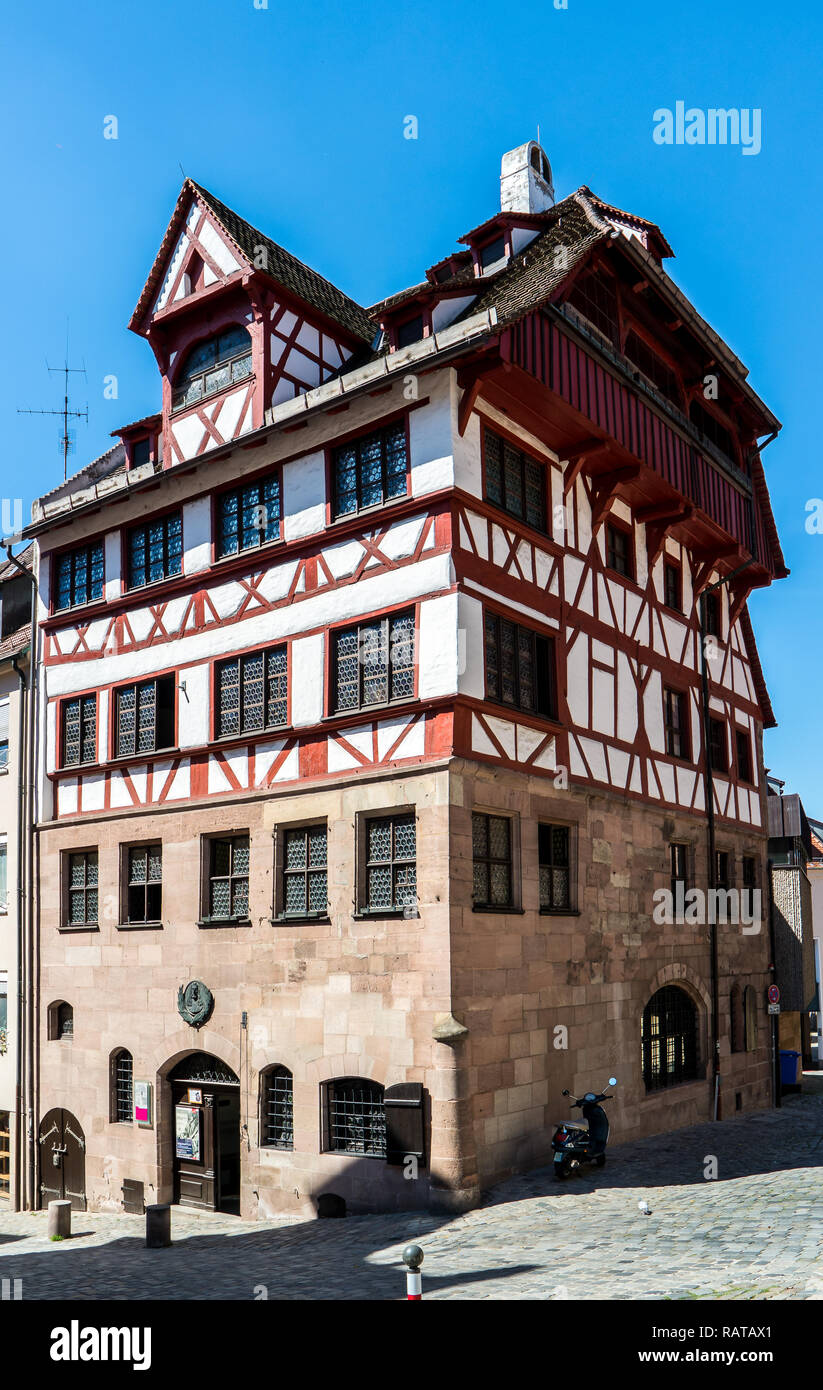 Albrecht Dürer Haus in Nürnberg Stockfoto, Bild: 230416761 ...