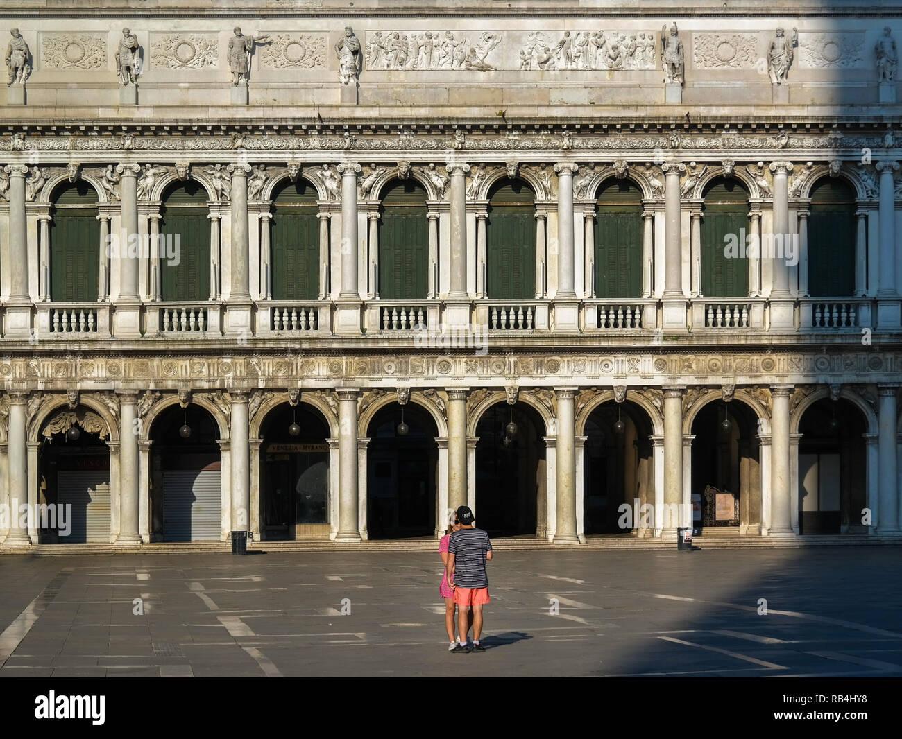 Venedig Markusplatz Stockbild