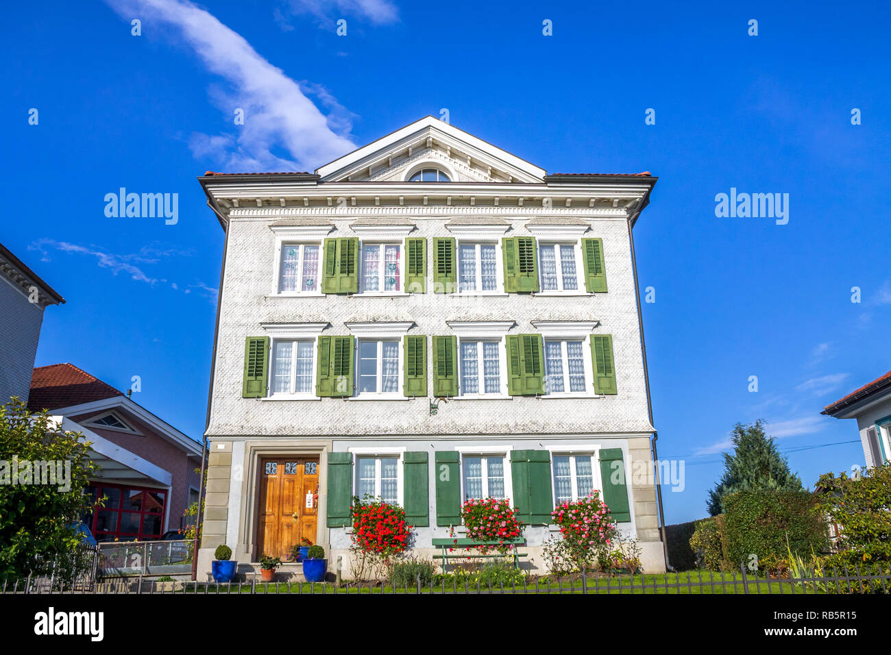 Heiden, Appenzell, Ausserrhoden, Schweiz Stockbild