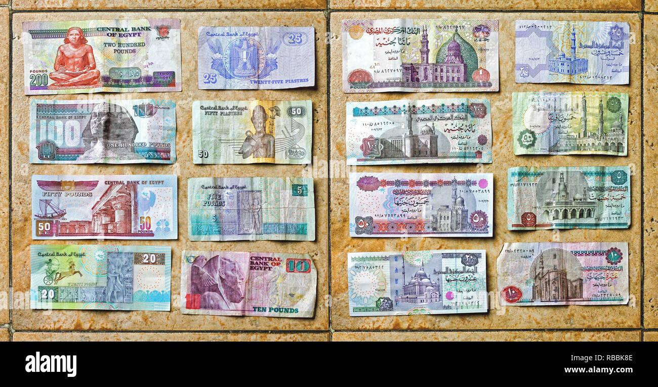 Währung ägypten in euro