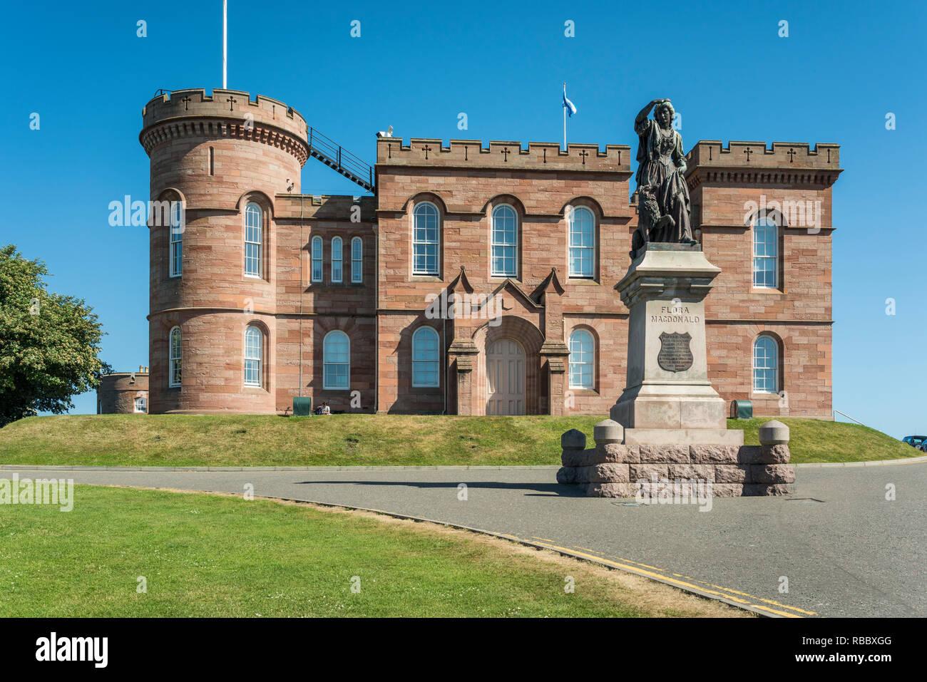 Die Burg Von Inverness In Inverness Schottland