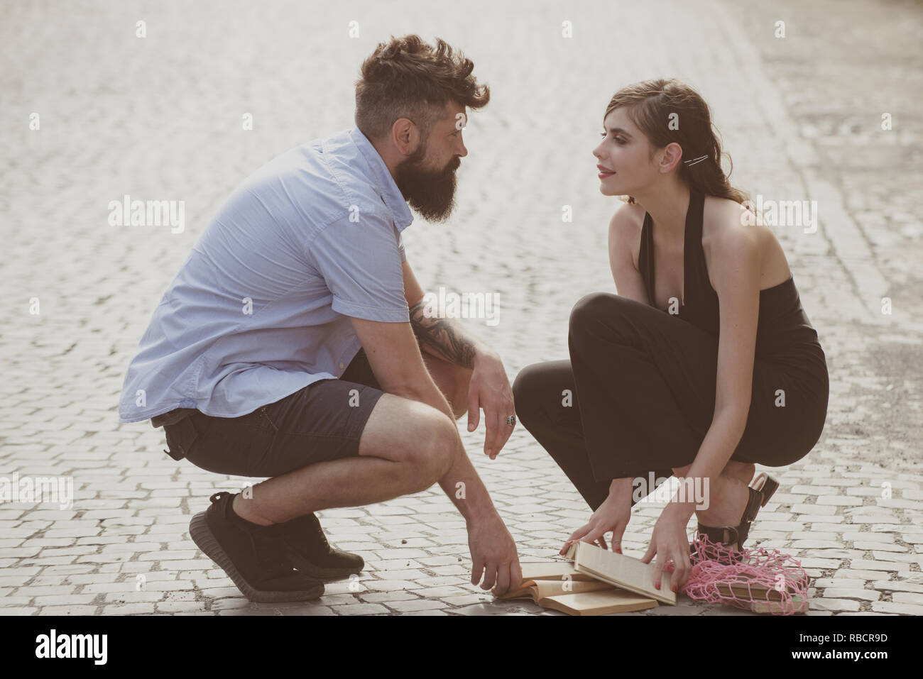 Romantisches Dating-Profil