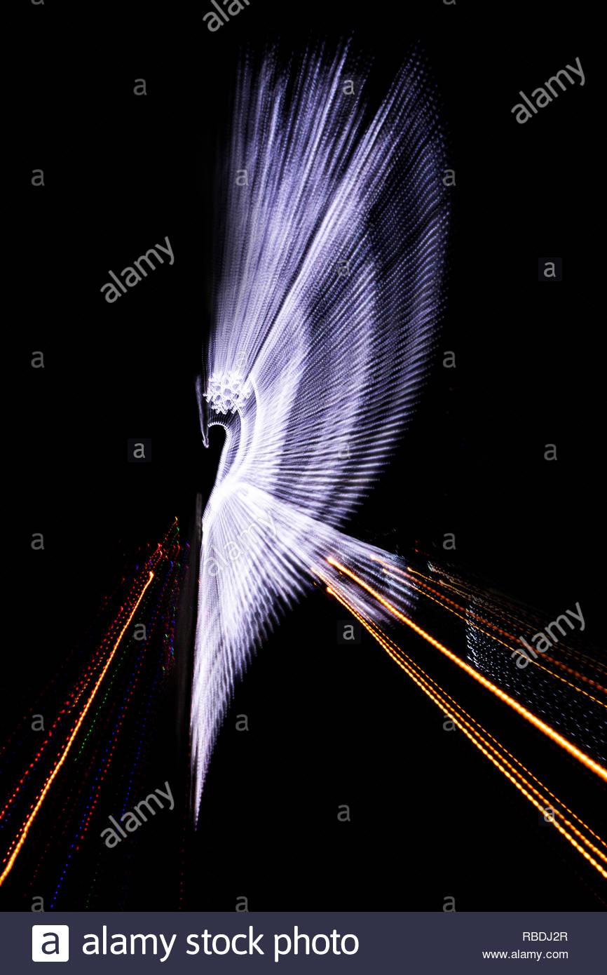 Weihnachtsbeleuchtung Engel.Engel Lichter Stockfotos Engel Lichter Bilder Alamy
