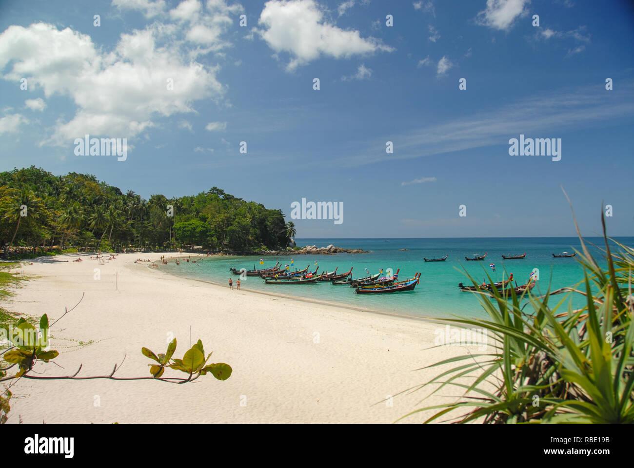 Freedom Beach In Phuket Thailand Stockfoto Bild 230804375 Alamy