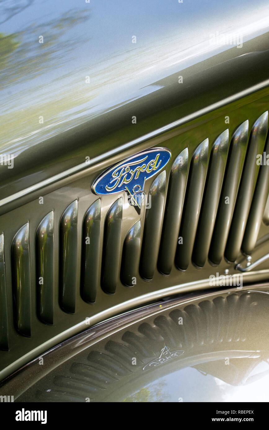 1936 Ford Pick up Detail Stockbild