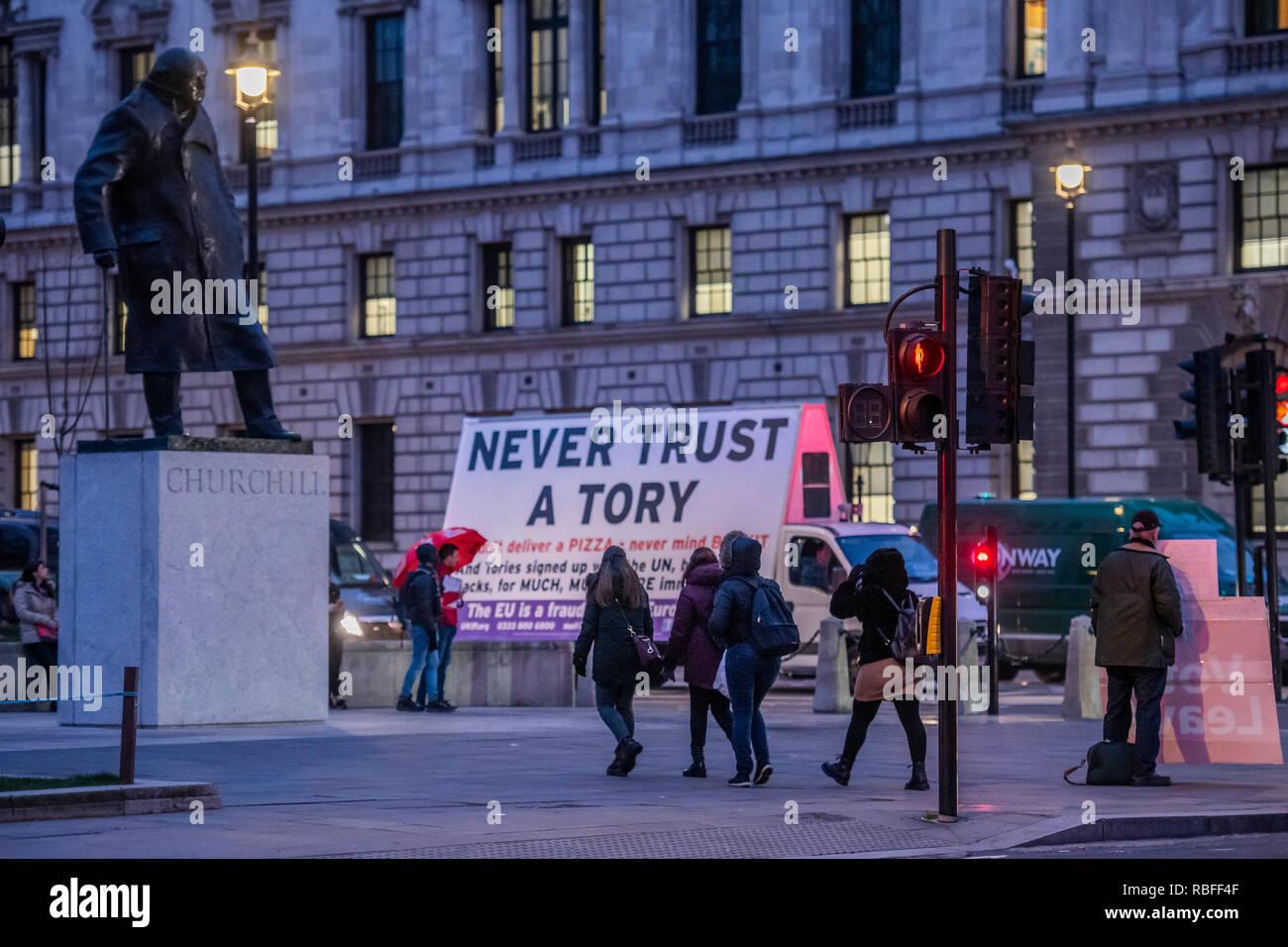 Haken-up-Seiten in London