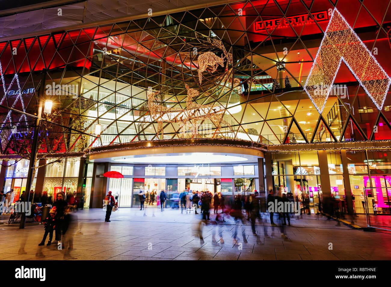 Weihnachten 2019 In Deutschland.Frankfurt Am Main Deutschland Januar 07 2019 Weihnachten