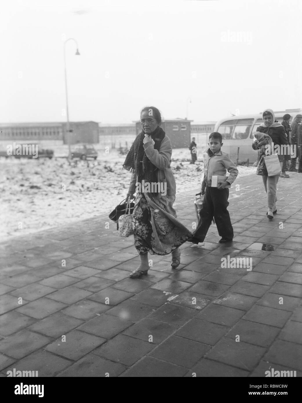 Aankomst Evacues In Legerplaats Budel Bestanddeelnr 909 2671
