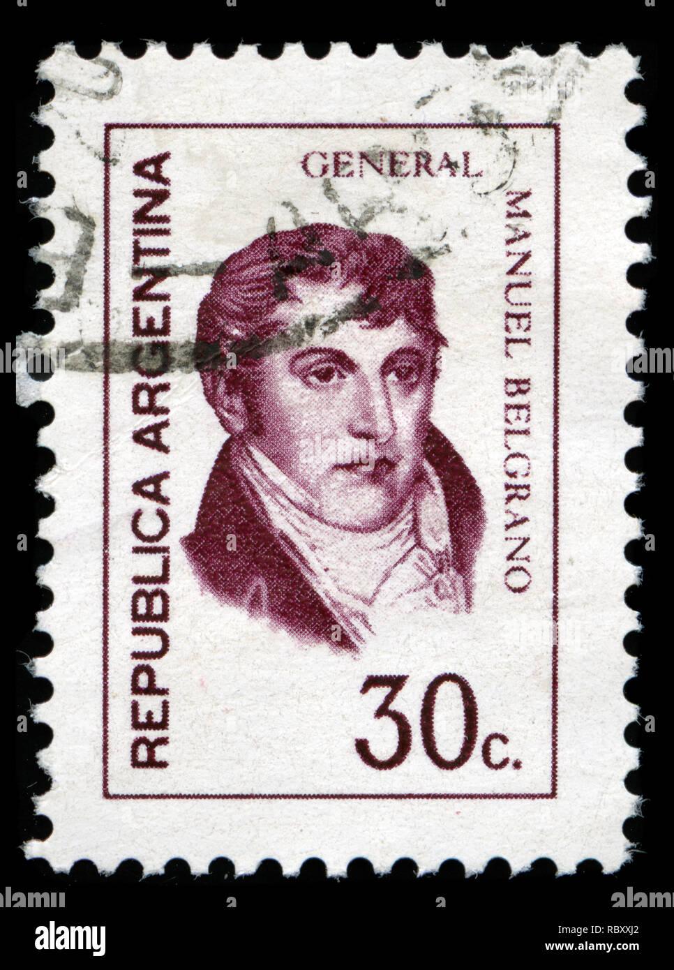 Briefmarke Philatelie 1977 Argentinien