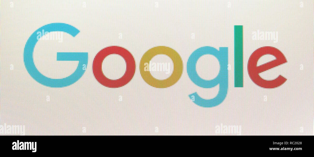 Google-Logo Stockbild