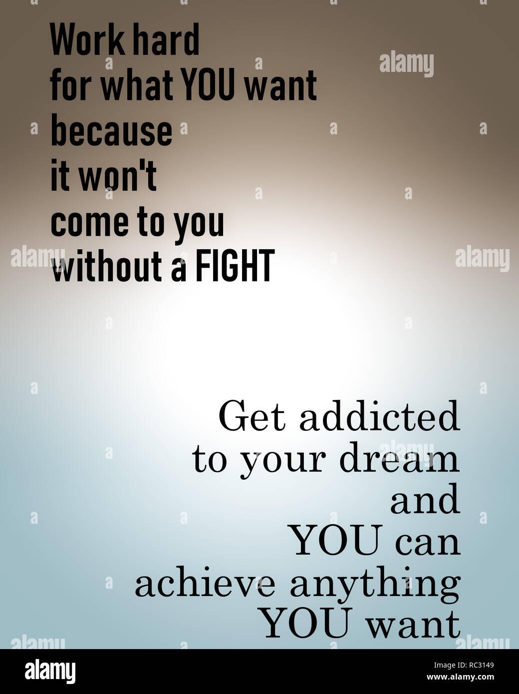 Inspirational Motivational Zitat Leben Weisheit Hart