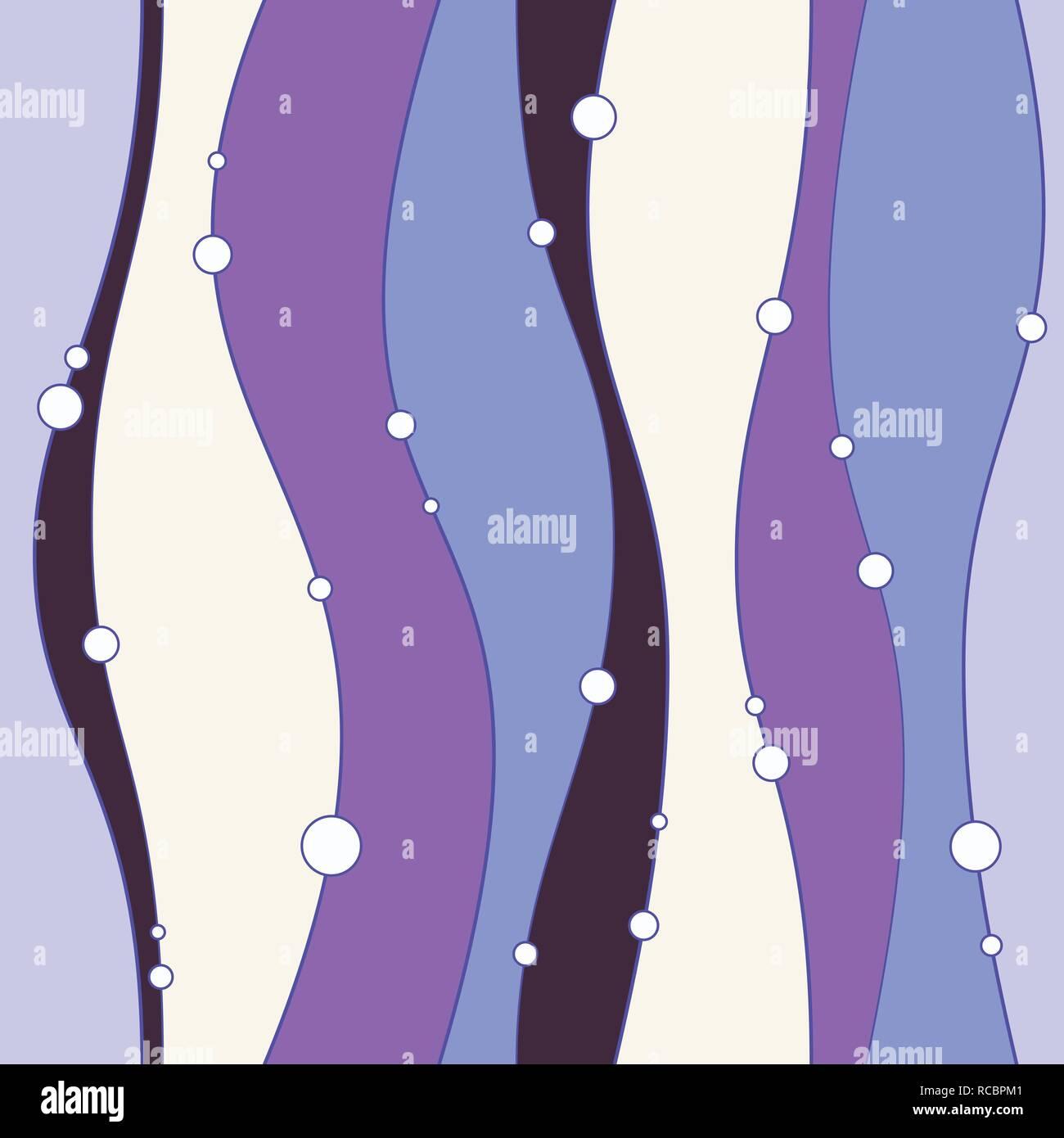 Nahtlose Farbmuster mit glatten Linien und Kreise. Elegante Textur. Vertikale Richtung. Vector Hintergrund. Stockbild