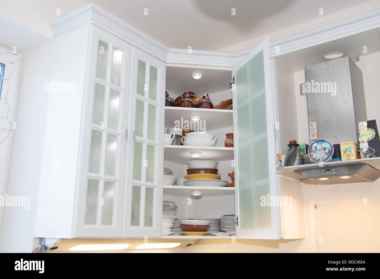 Weisse Kuche Kuche Aus Holz Moderne Mobel Und Kuche Interieur