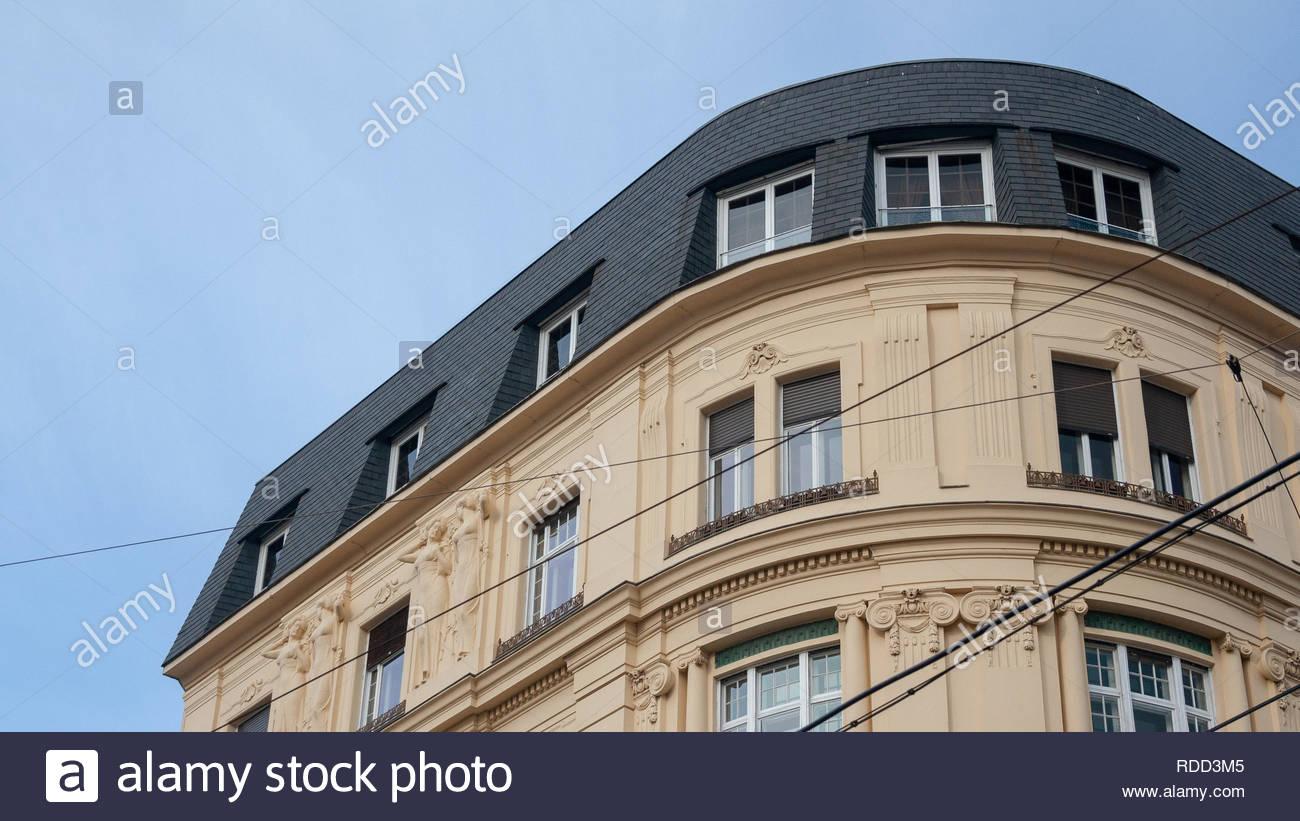 Wohnen in Wien Stockbild
