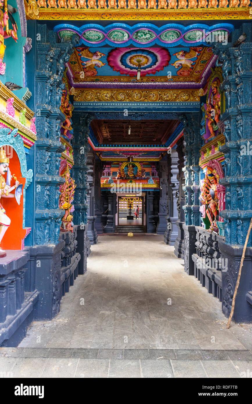Attukal Hindu Tempel, Trivandrum, Thiruvananthapuram, Kerala, Indien Stockbild