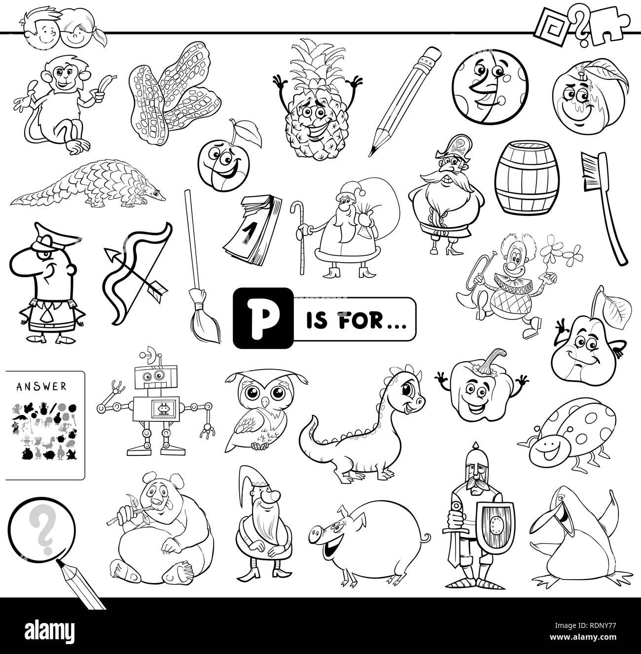 Dibujos Para Pintar Que Inicien Con La Letra I Dibujos Para Colorear