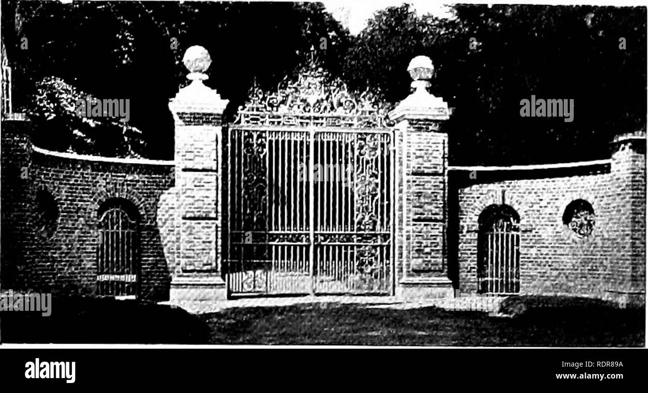 Gärten für kleine Häuser auf dem Land. Gärten, Englisch. Tore und ...