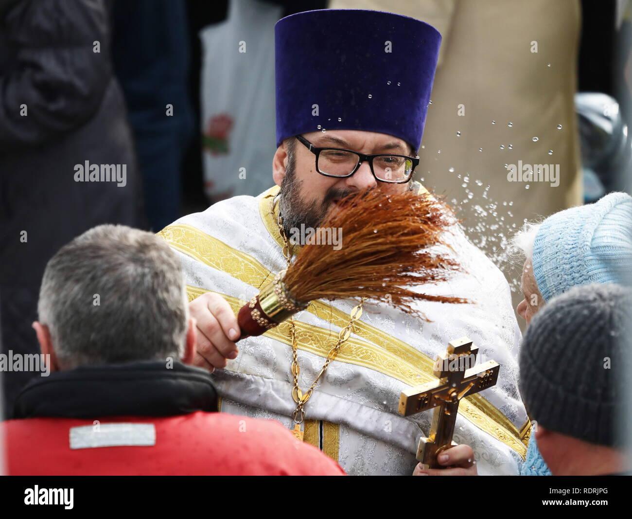 Sudak Russland Jan 2019 19 Krim Russland Januar 19