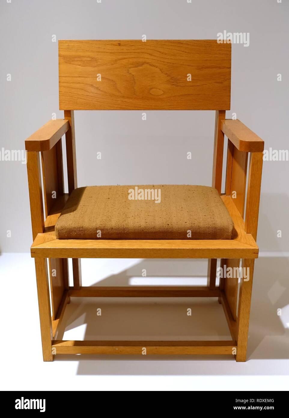 Sessel Entworfen Von Frank Lloyd Wright Hersteller Unbekannt