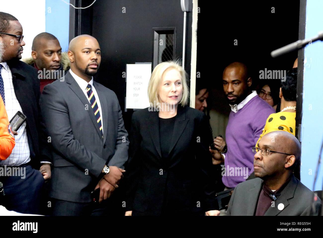 New York Ny Usa 21 Jan 2019 Die Jahrlichen Martin Luther King