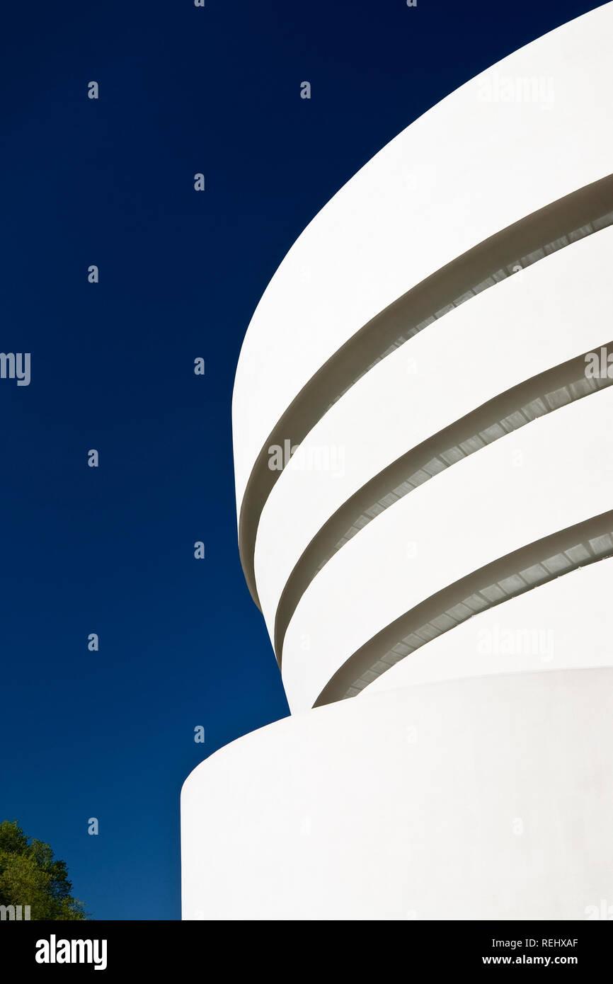 Guggenheim Museum von Frank Lloyd Wright Stockbild