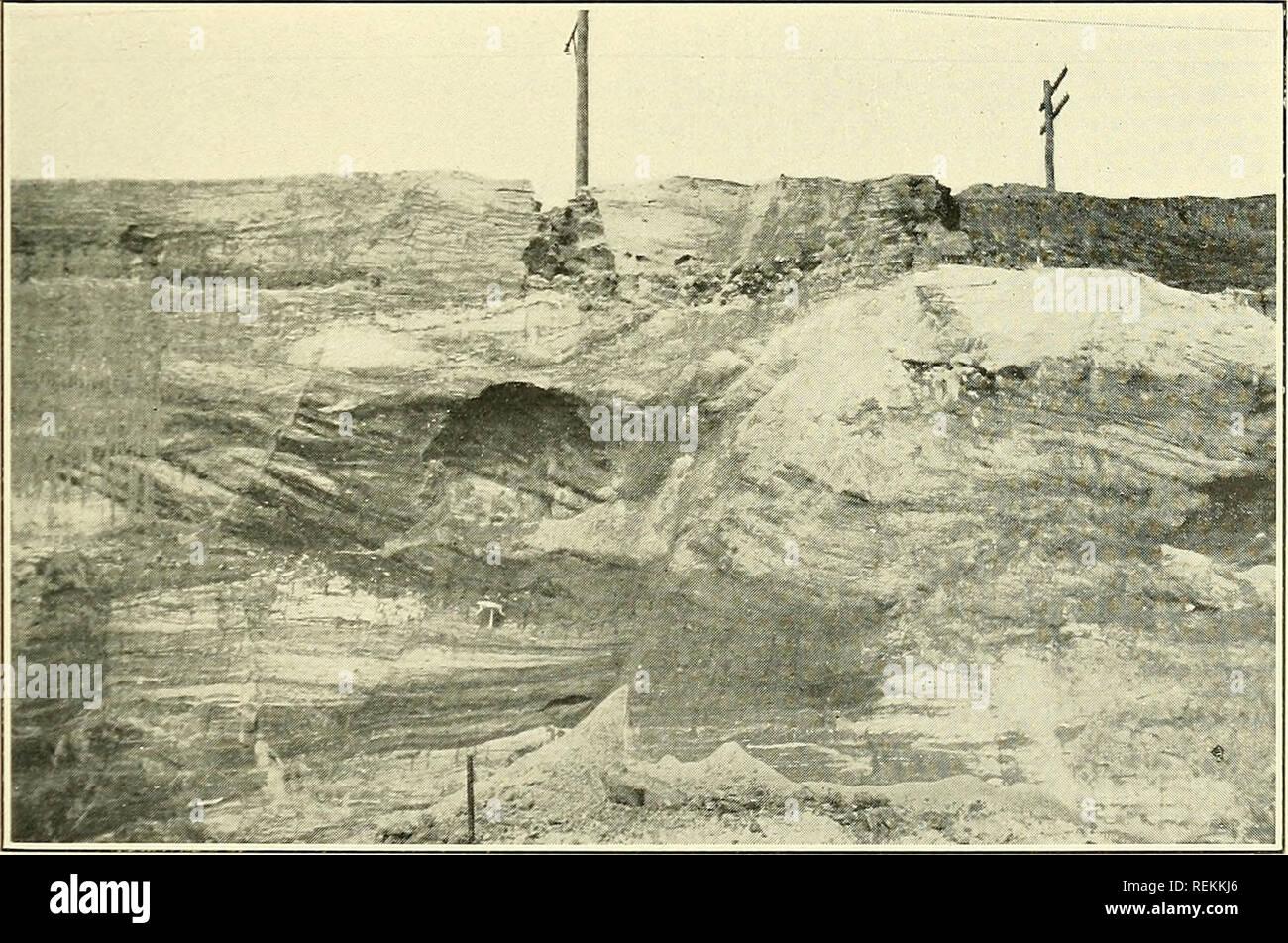 Die Tone Und Tonindustrie Von New Jersey Lehm Ton Branchen Abb