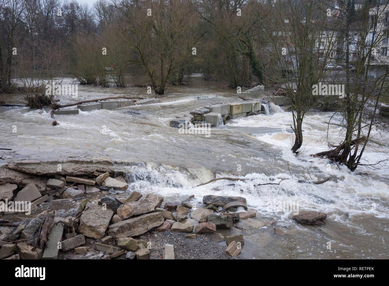 hochwasser baden-württemberg