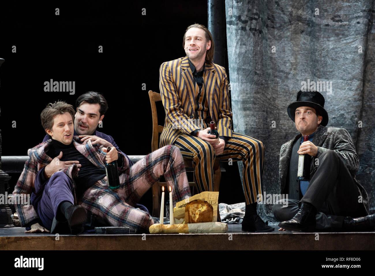 La Boheme Von Puccini Probe In Der Komischen Oper Berlin