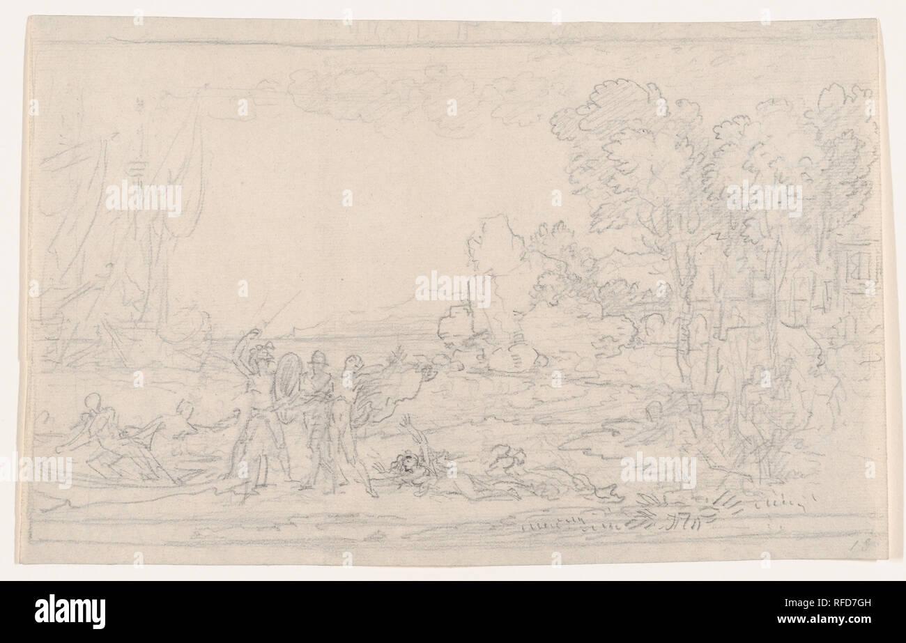 Rinaldo Gerettet Von Armida Artist Benjamin West