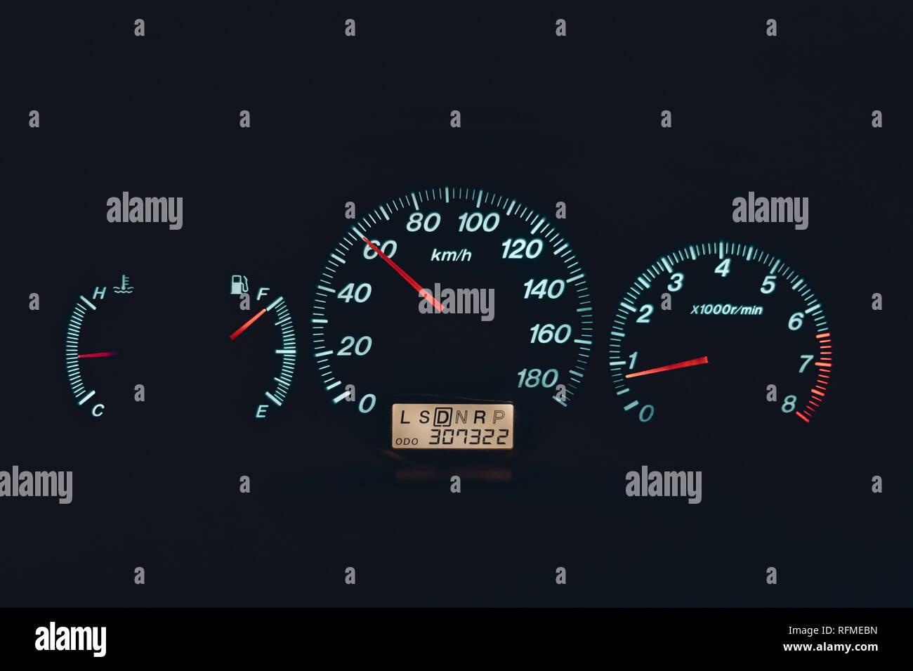Regeln und Vorschriften zur Geschwindigkeit