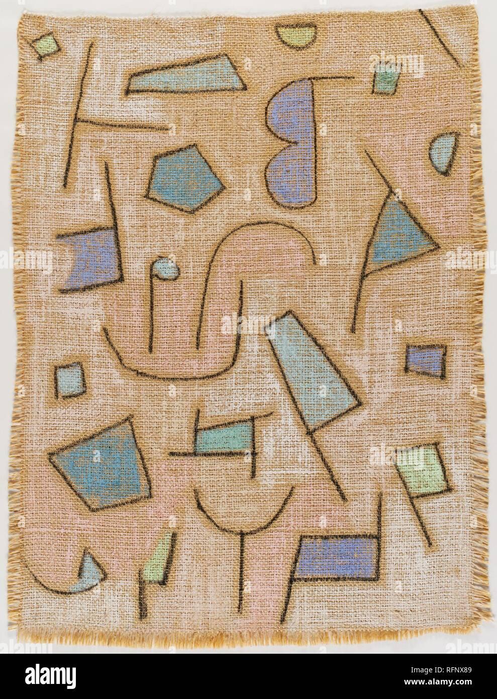 Paul Klee Leicht Trocken Gedichtjpg Rfnx 89 Stockfoto