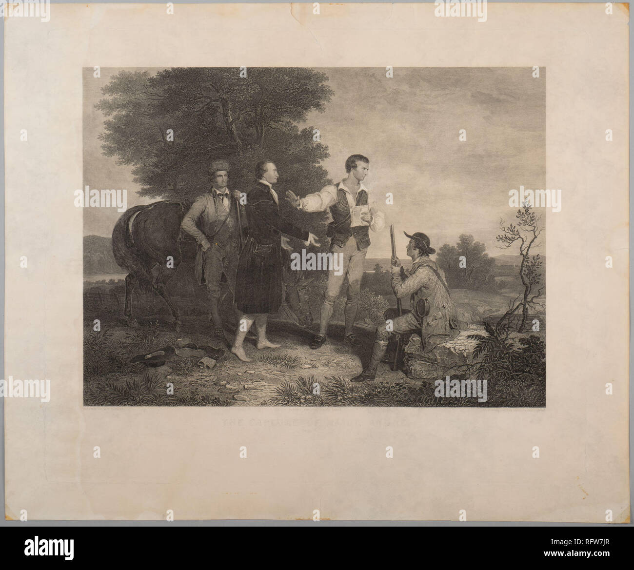 Sc 173 Sekundäre Objekt Nr Rp 440 Historische Szene Mit Der